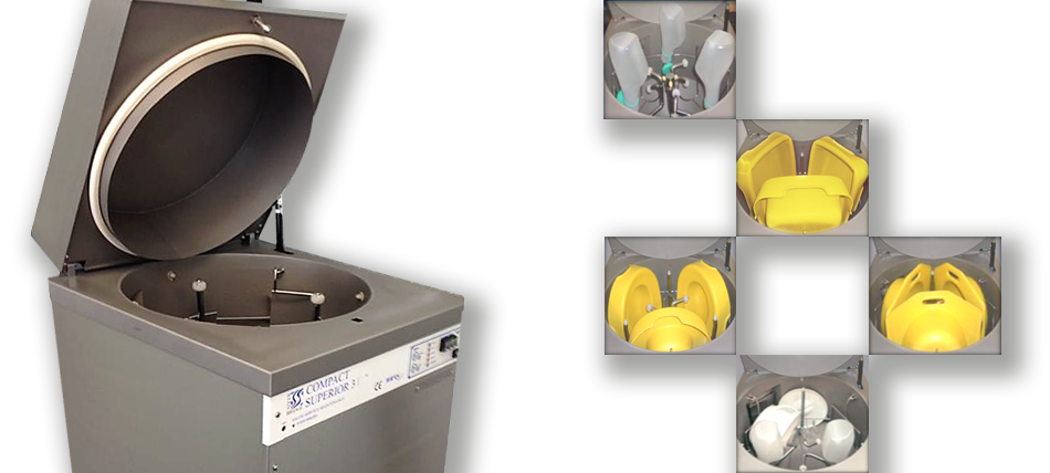 The Compact Superior range  of multi-utensil machines